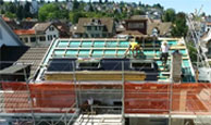 Photovoltaic In Roof Mounting System Solrif Building And