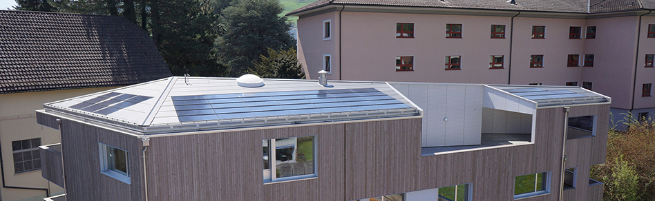PV Systems for in-roof, on-roof and flat roof installation.